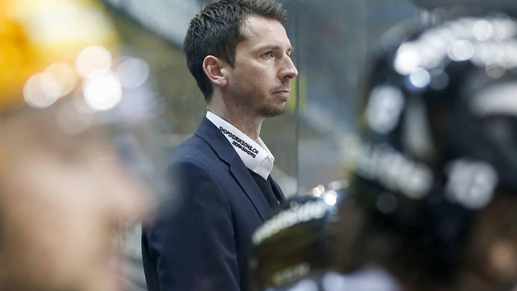 Berns Trainer Lars Leuenberger blickt schwierigen Tagen entgegen