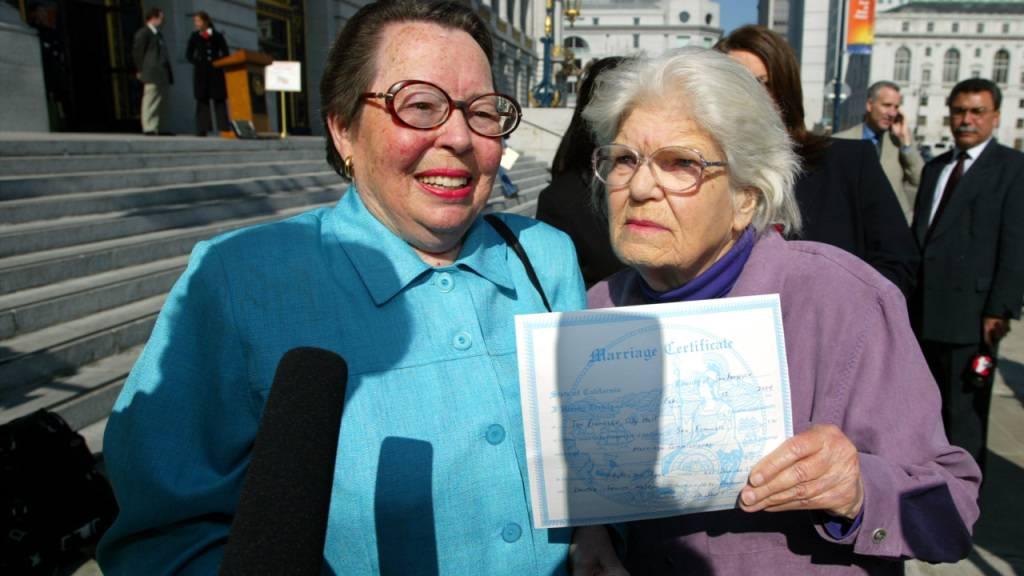 US-Aktivistin für Frauenrechte und Homo-Ehe mit 95 Jahren gestorben