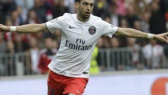Doppeltorschütze für Paris St-Germain: Javier Pastore