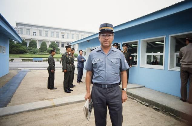 Auch im Einsatz im Jahr 1983: Oberst Kurt Reininger.
