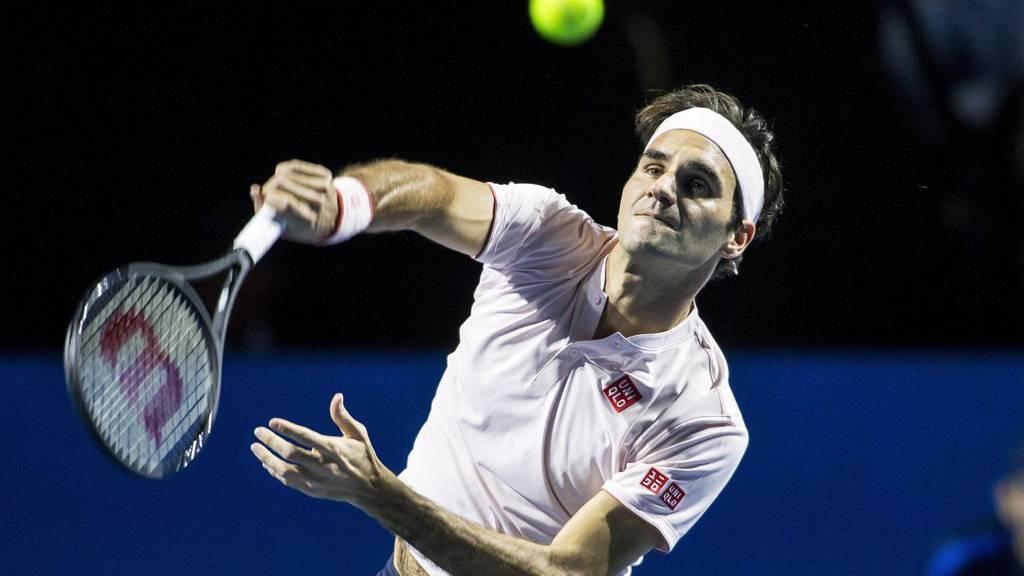Die Freude ist gross, Roger Federer steht im Halbfinal.