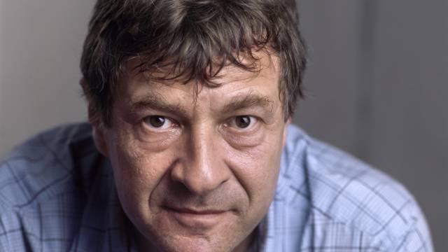Kurt Imhof im Soziologischen Institut in Zürich, Foto von 2005
