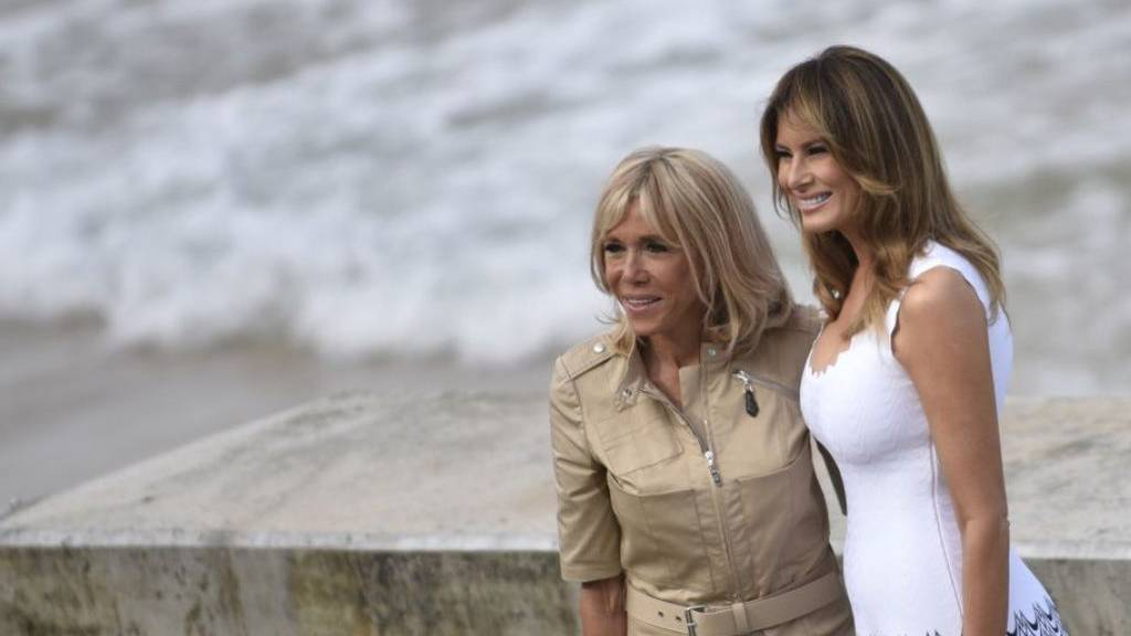 Frankreichs First Lady Brigitte Macron unterrichtet wieder
