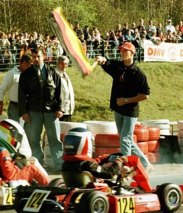 Michael Schumacher – die Bilder zu seinen wichtigsten Stationen: Auf dieser Kartbahn in Kerpen (Nordrhein-Westfalen) startete Schumacher seine Rennfahrer-Karriere.