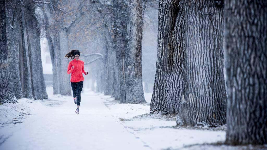 Joggen bei eisiger Kälte ist gefährlich