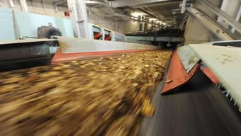 Die Elektra Baselland will in Pratteln ein Holzheizkraftwerk errichten. (Symbolbild)