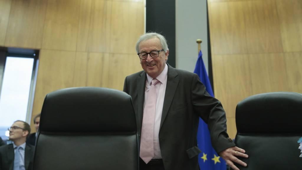 Juncker: «Europa ist die Liebe meines Lebens»
