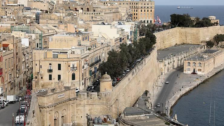 Kleinste Hauptstadt in der EU: Valletta auf Malta - dieses Jahr ausserdem Europäische Kulturhauptstadt.