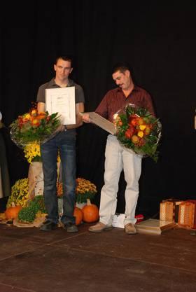 Urs Steigmeier aus Endingen und Sämi Schmid aus Veltheim