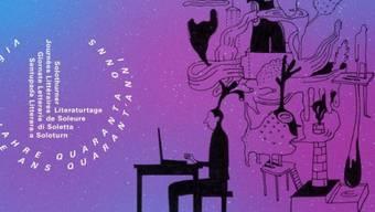 Die Solothurner Literaturtage feiern heuer vom 11.-13. Mai ihren 40. Geburtstag. Mit zehn Veranstaltungen wird bereits ab 21. März vorgeglüht. (zVg)