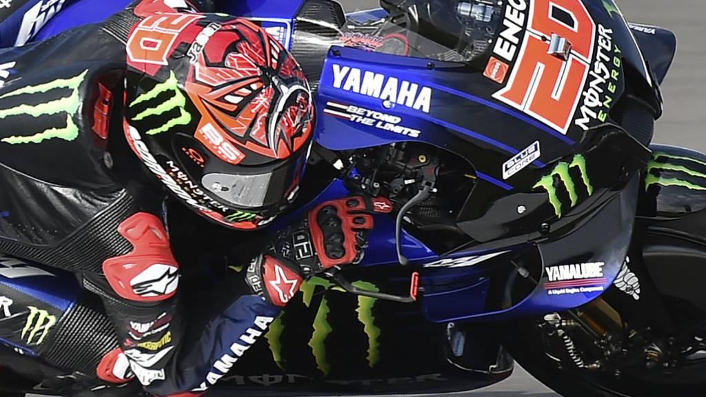 Hat nach zwei Dritteln der MotoGP-Saison 65 Punkte Vorsprung auf den ersten Verfolger: der 22-jährige Franzose Fabio Quartararo
