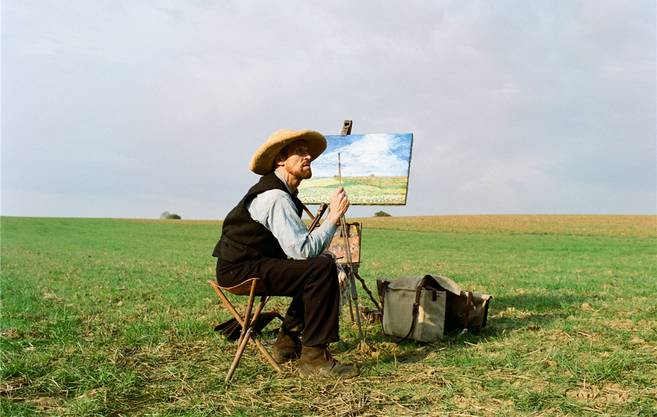 US-Schauspieler Willem Dafoe als Vincent van Gogh.