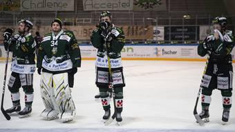 Enttäuschung pur in den Reihen des EHC Olten nach dem unerwartet frühen Saisonende vom Freitag, 28. Februar.
