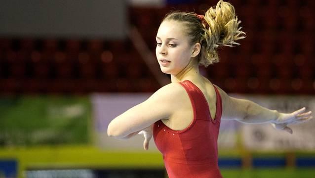 Eine gute Figur gemacht: Mit Sara Metzger verliert das Schweizer Kunstturnen eine talentierte Sportlerin.