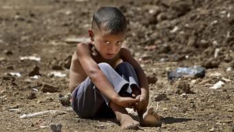 Millionen syrischer Kinder leiden wegen dem andauernden Krieg im Land unter psychosomatischen Stresssymptomen. (Archiv)