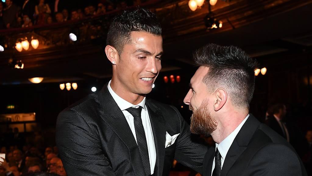 Vilnius bittet Ronaldo und Messi edles Dinner an