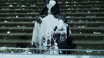 So schlimm wüteten die Basler Krawallbrüder im Aarauer Brügglifeld