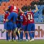 Ein gewohntes Bild im St.-Jakob-Park: Die FCB-Spieler jubeln auch gegen Sion