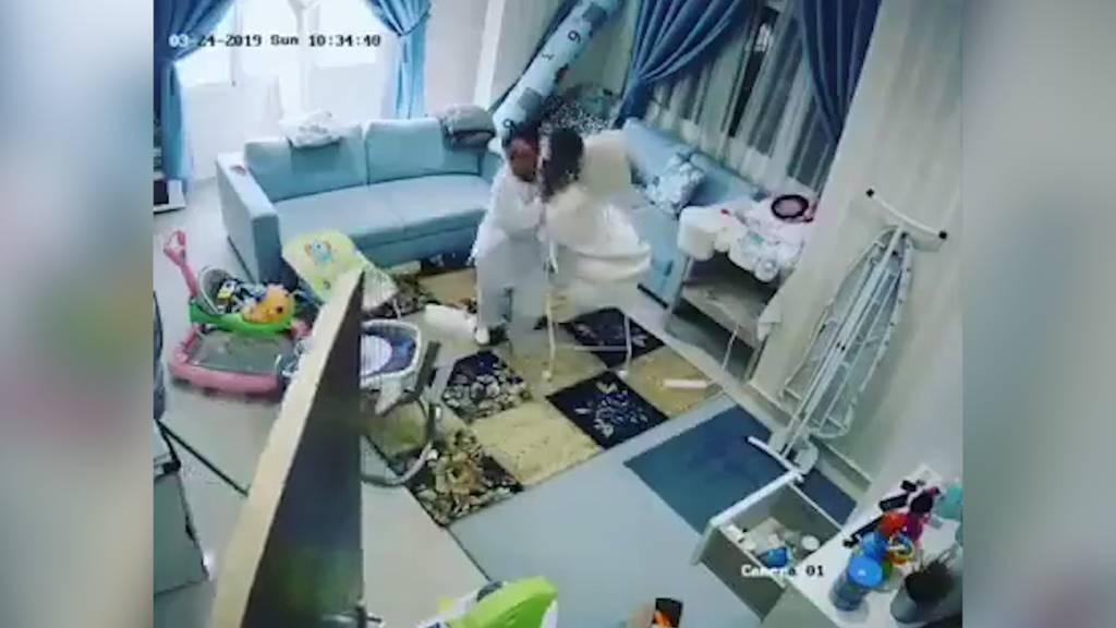 Wenige Sekunden später wäre dieses Baby tot gewesen