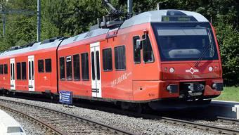 Die Sihltal Zürich Uetliberg Bahn SZU hat am Montag nach Abschluss von Sanierungsarbeiten im Sihltunnel ihren Fahrbetrieb bis zum HB Zürich wieder aufgenommen. (Archivbild)