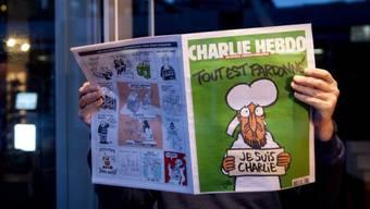 Erste Ausgabe von Charlie Hebdo nach dem Anschlag auf die Redaktion