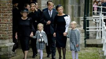 Die niederländische Königsfamilie trauert um Prinz Friso