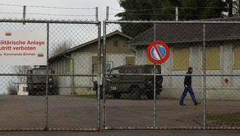 CVP-Grossrat Herbert Strebel bringt die alte Militäranlage in Bettwil als Durchgangsplatz für Fahrende ins Gespräch. Chris Iseli / Archiv
