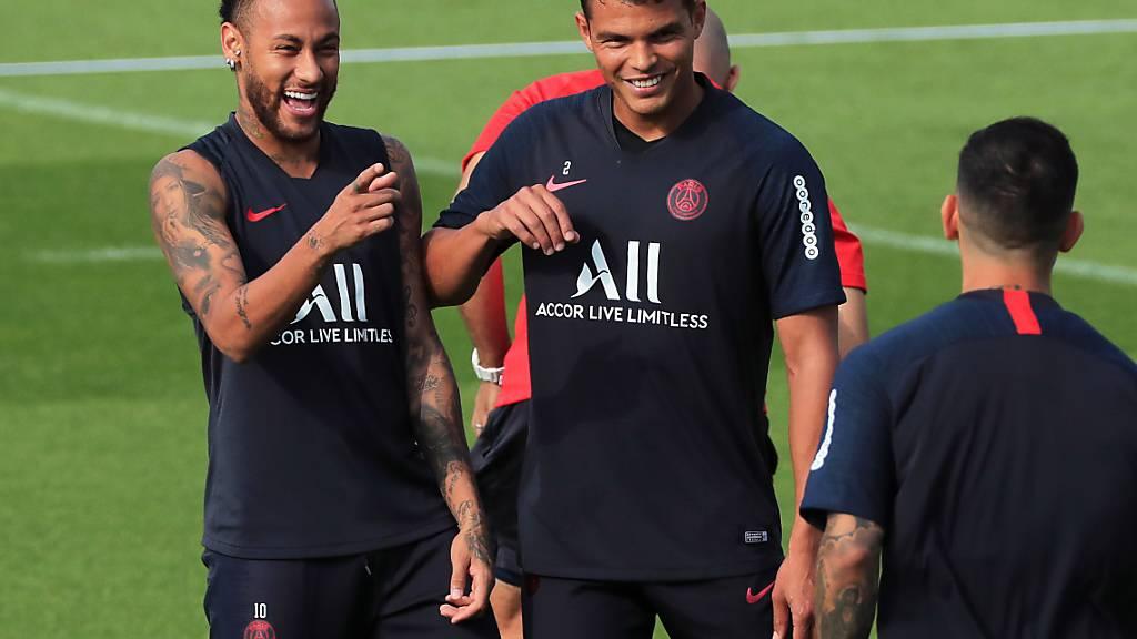 Neymar ist zurück bei PSG und könnte am Samstag zu seinem Comeback kommen