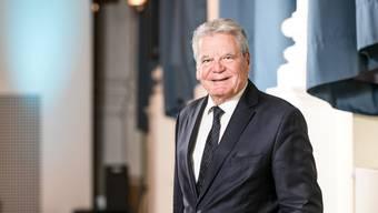 «Was wir leben, prägt uns», sagt Joachim Gauck.