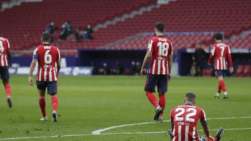 Benzema rettet Real einen Punkt im Madrider Derby