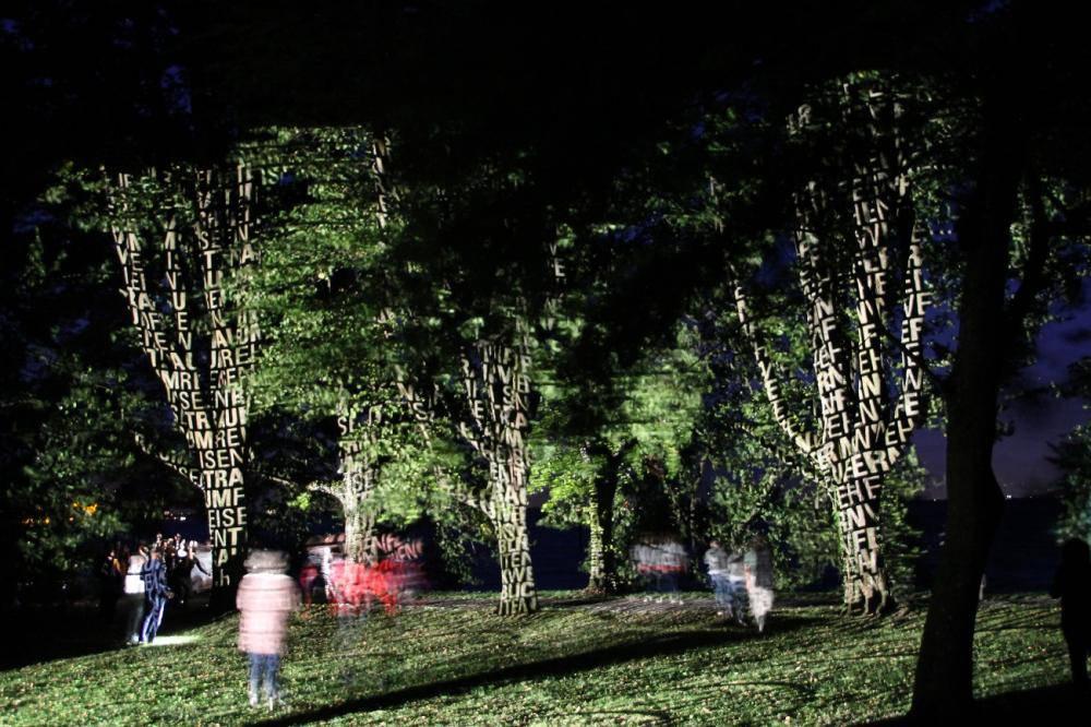 Der Garten in der Nacht ist ein besonderes Erlebnis. (Bild: PD)