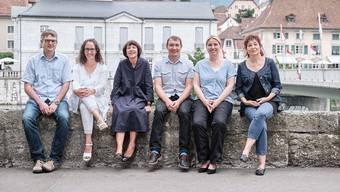 Das ZePP-Team (v.l.n.r.): David Moser, Marianne Spycher, Christine Friedli, Willi Schlegel, Christiane Jenemann und Doris Gnägi.
