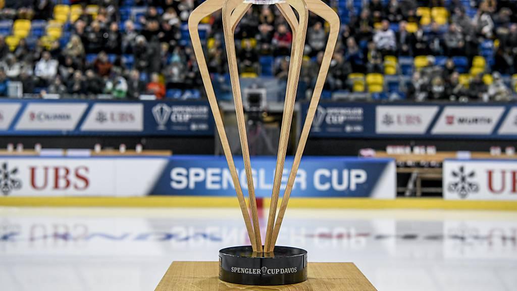 Finnisches Team KooKoo am Spengler Cup