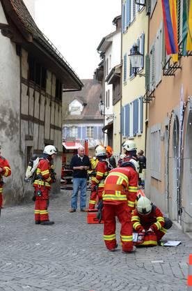 Über die Brandursache wie auch den entstandenen Sachschaden ist noch nichts bekannt.