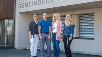 Ursula Dätwyler, Lukas Treier, Jacqueline Hausmann, Jacqueline Gloor