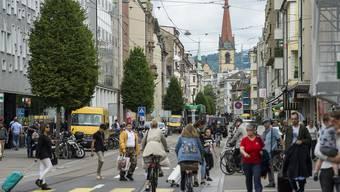 Zwischen Verkehrschaos und Boulevard: Im Gundeli tobt das Leben.