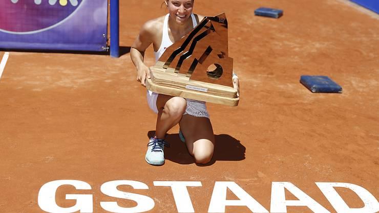 Schöne Erinnerung: 2016 triumphierte Viktorija Golubic beim Heimturnier in Gstaad