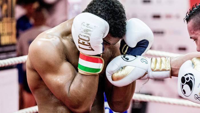 «Carlos» beim Kampfsport-Training.