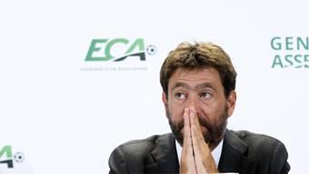 Klub-Präsident und Fiat-Erbe Andrea Agnelli.