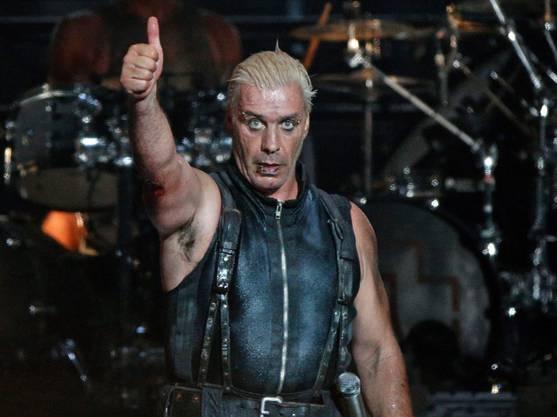 Er polarisiert mit seiner Band immer mal wieder: Rammstein-Frontmann Till Lindemann. (Archivbild)