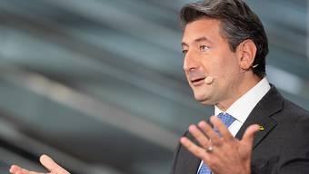 Seit 100 Tagen an der Spitze der Schweizer Post: CEO Roberto Cirillo.