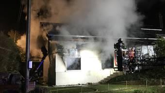 Brand in Langenbruck