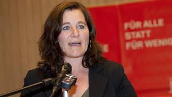 Franziska Roth würde in ein Duell mit Stadtpräsident Kurt Fluri einsteigen.
