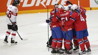 Eishockey Schweiz gegen Norwegen