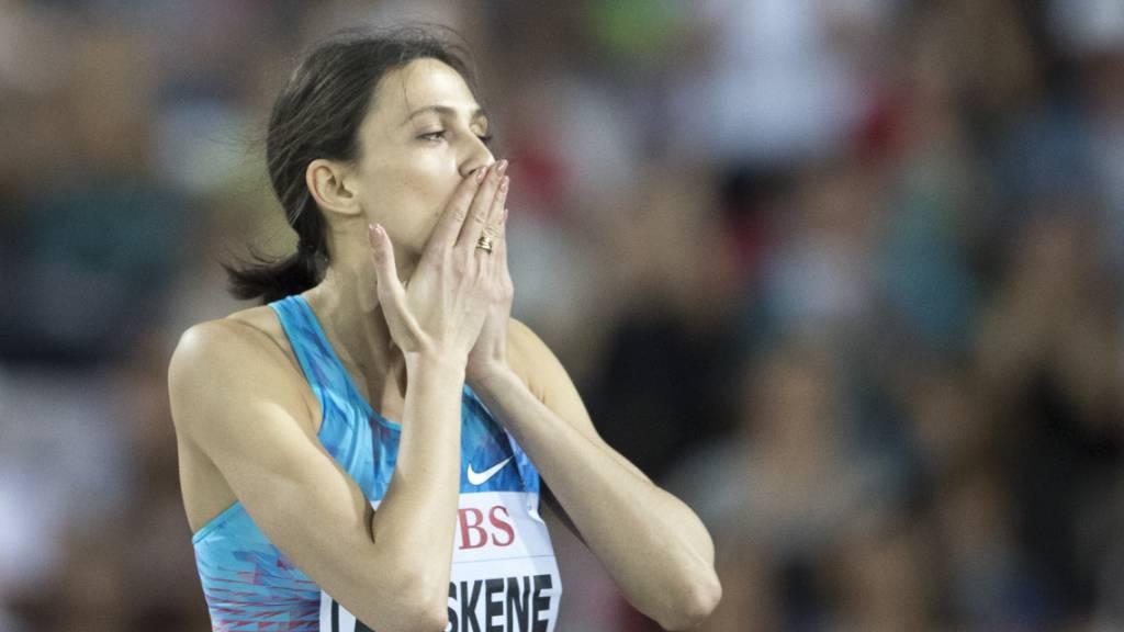 Hochsprung-Weltmeisterin Lasizkene strebt Start bei Olympia an
