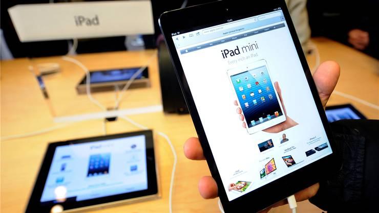 Apple bringt am 5. Februar einen neuen iPad mit höherer Speicherkapazität auf den Markt (Symbolbild).