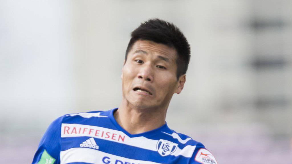 Pak Kwang-Ryong Pak spielt künftig für St. Pölten
