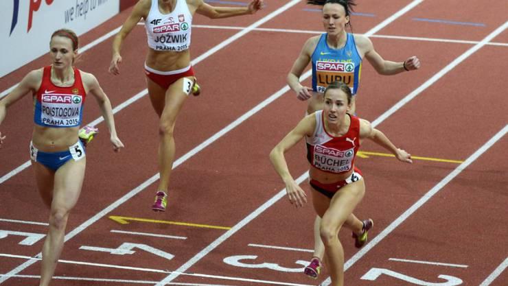 Selina Büchel ist am Athletissima-Meeting eine heisse Schweizer Sieganwärterin