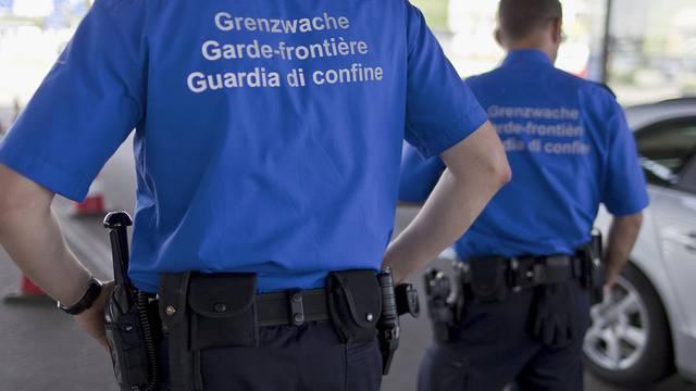 Grenzwächter bei der Arbeit (Symbolbild)