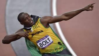 Usain Bolt gewinnt Olympia-Gold über 100m und ist so der schnellste Mensch auf der Erde